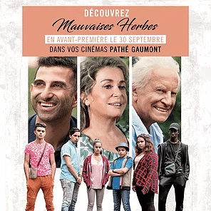 KHEIRON : «MAUVAISES HERBES» en AVANT-PREMIÈRE dans tous les Cinémas PATHÉ / GAUMONT le 30 Septembre