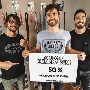 BREAKY BOXES : 50% EN UNE SEMAINE SEULEMENT !