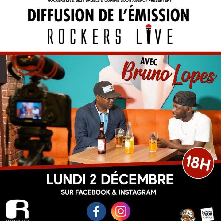 DIFFUSION DE L'ÉMISSION ROCKERS LIVE