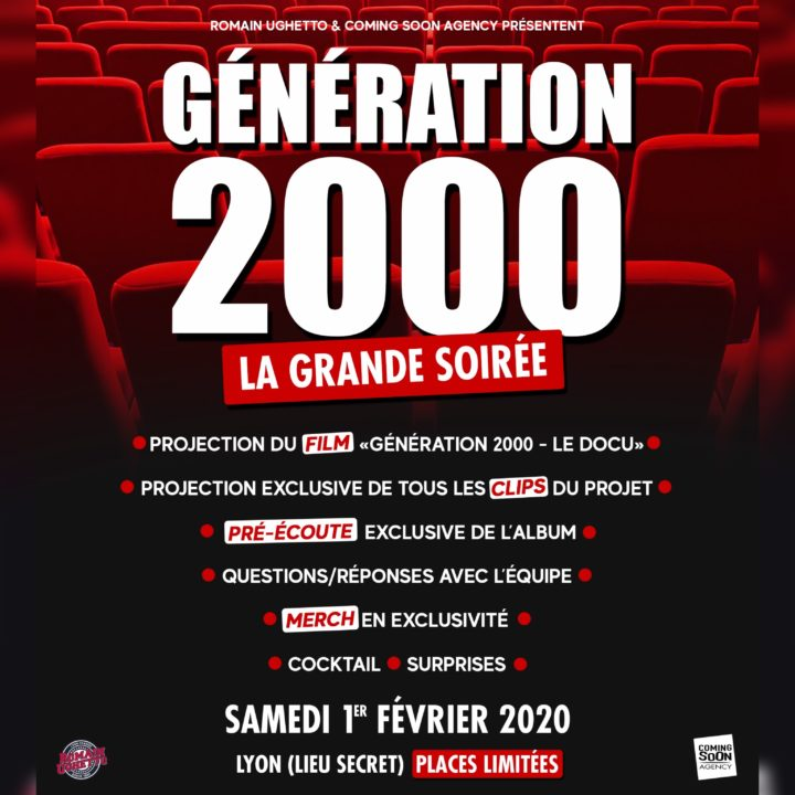 GÉNÉRATION 2000 – LA GRANDE SOIRÉE : DÉMARRAGE HISTORIQUE DES VENTES