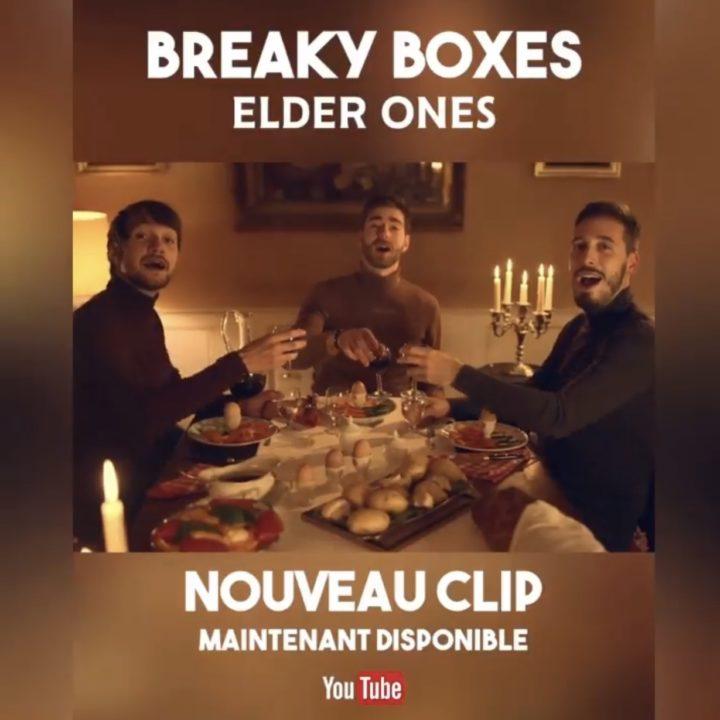 BREAKY BOXES DÉVOILE LE PREMIER CLIP DE L'ALBUM