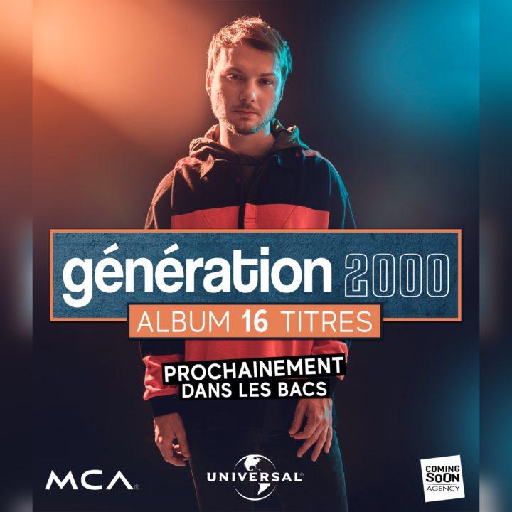 GÉNÉRATION 2000 par ROMAIN UGHETTO : UN ALBUM 16 TITRES CHEZ UNIVERSAL MUSIC !
