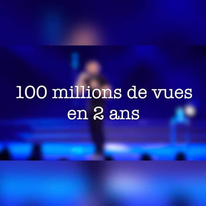 KHEIRON : 100 MILLIONS DE VUES SUR YOUTUBE !