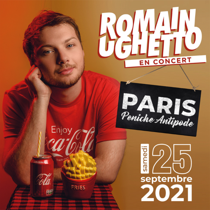 ROMAIN UGHETTO EN CONCERT À PARIS