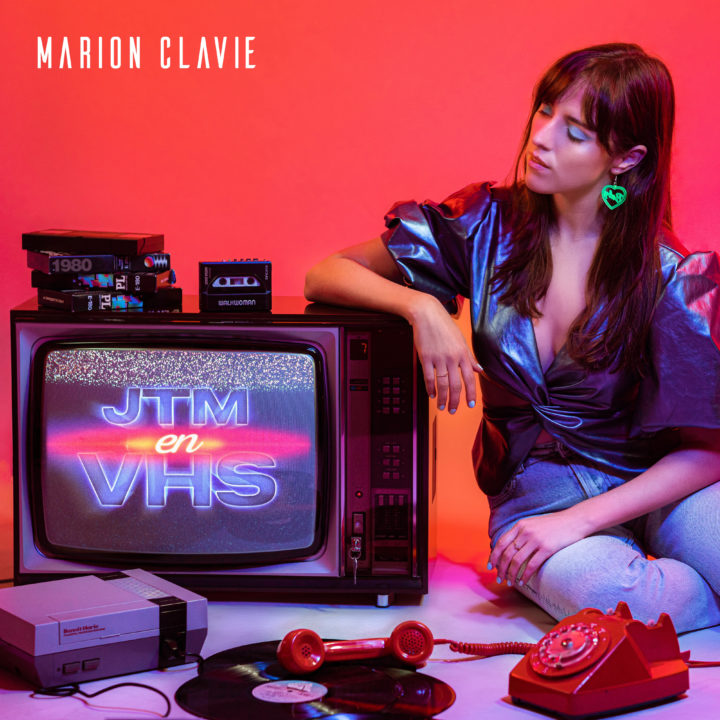MARION CLAVIE DÉVOILE SON NOUVEAU TITRE «JTM EN VHS»